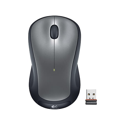 Logitech M310 Wireless Optical Mouse, Silver