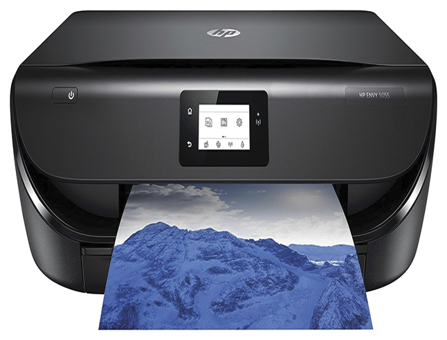 HP ENVY 5055 All-in-one Printer -- All-In-One Printer, 10ppm, 256 MB DDR3L Memory, Black