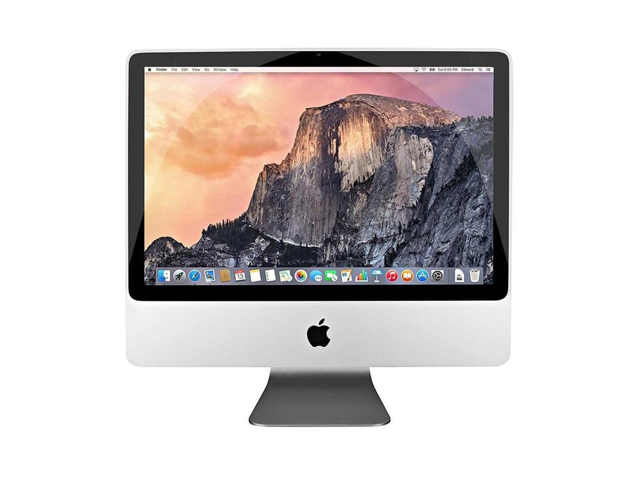iMac front view